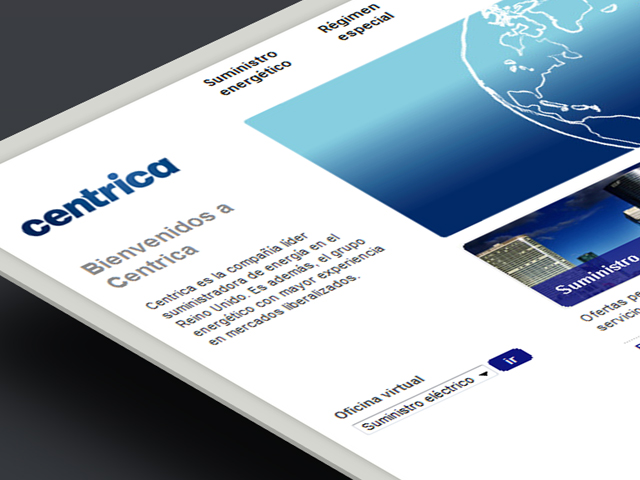 Website Centrica