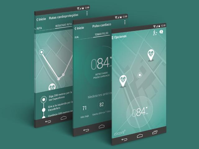 App para enfermos cardiovasculares Cocore
