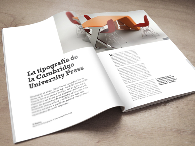 Maquetación revista