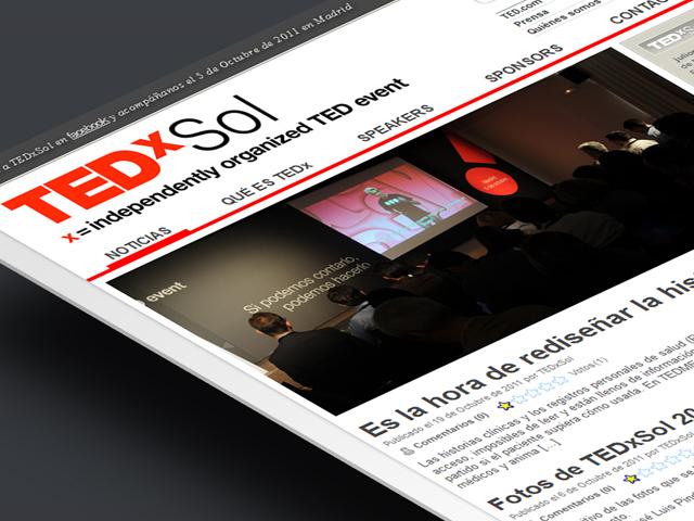 Website Tedx Sol